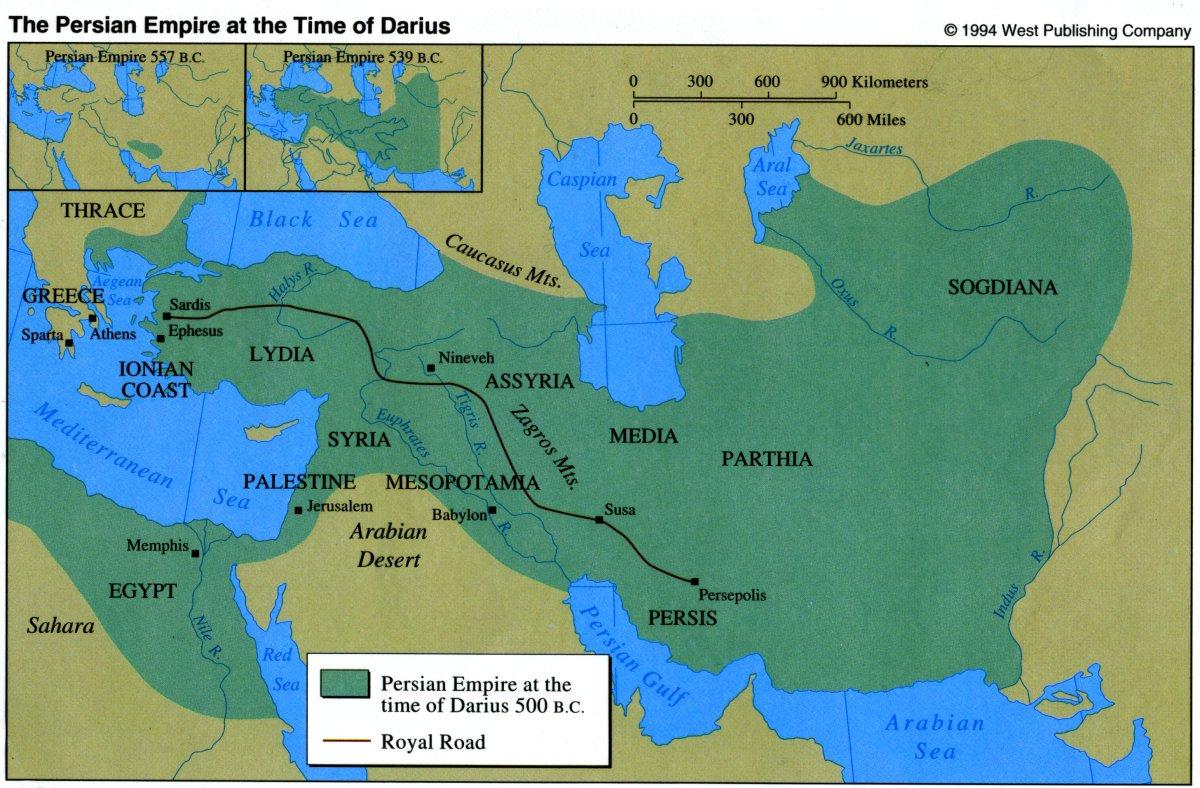 Persian Empire Darius Darius the Grea...