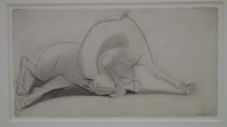 tn_guernica sketch agony of the horse 1