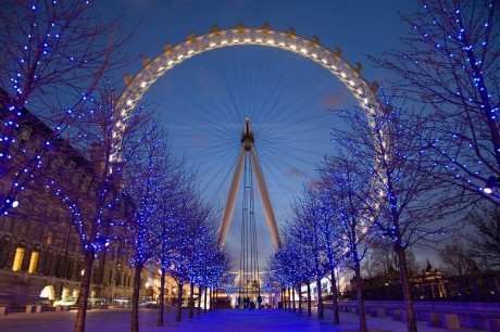 London_Eye_Twilight by D.Diliff