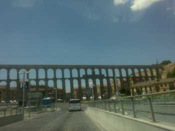 Segovia aqueduct by MAO