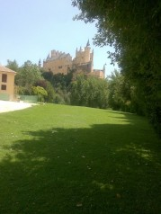 Segovia castle 1 by MAO