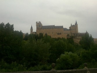 Segovia castle 2 by MAO