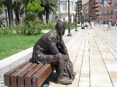 not Rodin's thinker