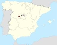 Avila Spain location