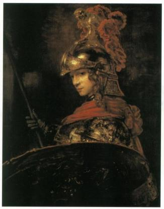 alexander the great by Rembrandt