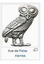 ave de palas atenea