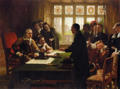 tn_Charles_West_Cope_-_Oliver_Cromwell_and_His_Secretary_John_Milton,_Receiving_a_Deputation_Seeking_Aid_for_the_Swiss_Protestants